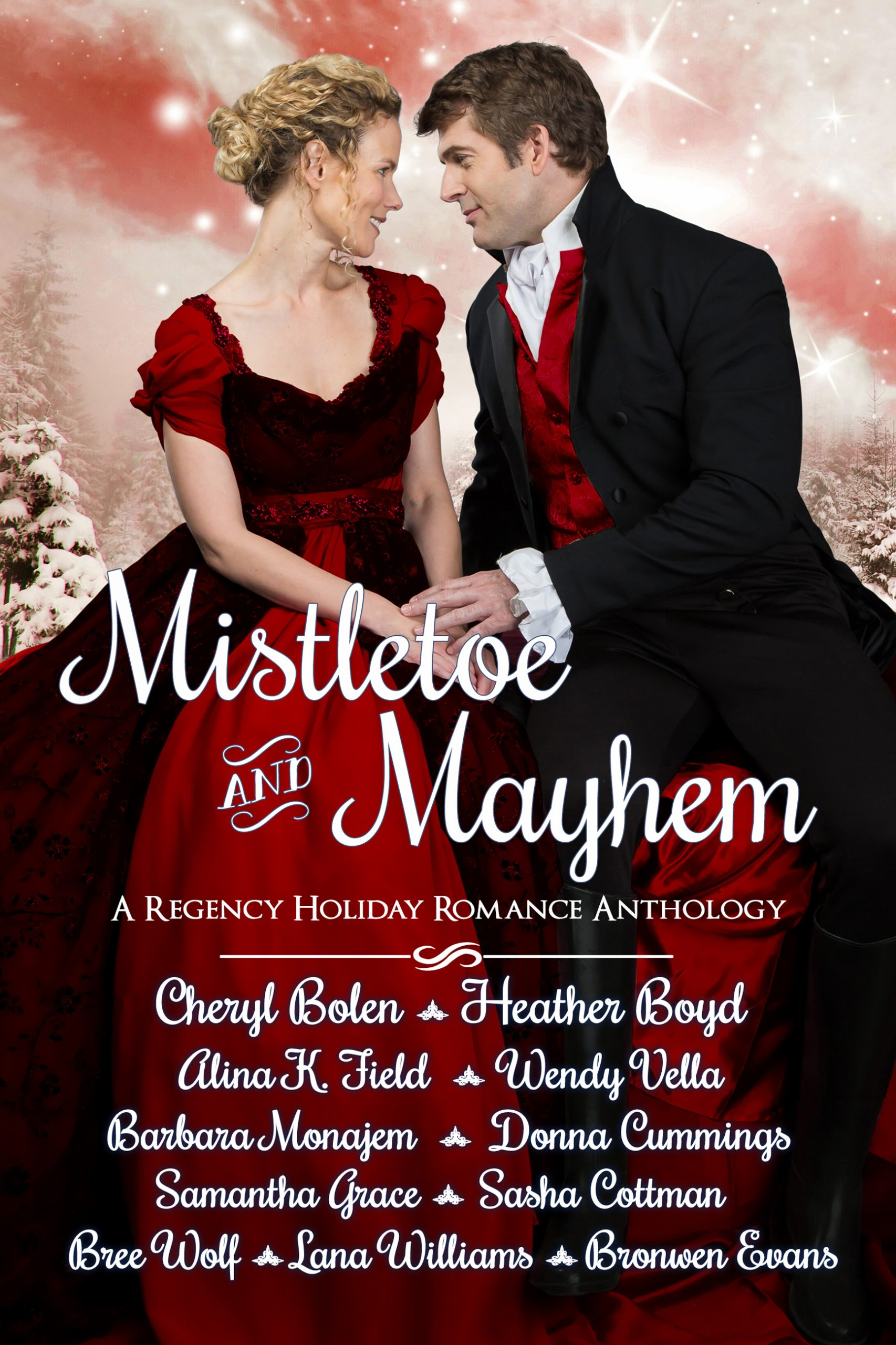 Wedded to the Welsh Baron (Mistletoe and Mayhem Regency Anthology)